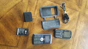 LG Cosmos  - Black (Verizon) Cellular Phone
