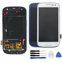 Per Samsung Galaxy S3 Neo i9301 i9308i Display LCD Touch Screen Schermo + Frame