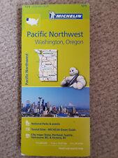 Pacific Northwest Washington Oregon 171 map Michelin Free UK shipping