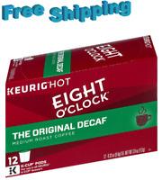 Eight o'Clock Original Decaf Medium Roast Coffee Keurig k-cups