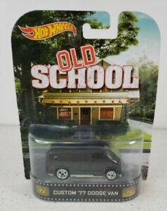 Hot Wheels Old School Custom 77 Dodge Van Retro Entertainment