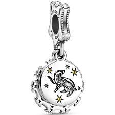 "PANDORA Harry Potter Charm Dangle Element 798832 C01 ""Hufflepuff"" Silber"