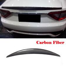 Rear Trunk Spoiler Wing Refit for Maserati GranTurismo Coupe 08-11 Carbon Fiber