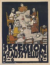 Egon Schiele Secession 49. Exhibition Canvas Print