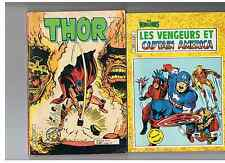 LES VENGEURS & CAPTAIN AMERICA 2 (AREDIT COMICS POCKET COLOR) + THOR 21 OFFERT !