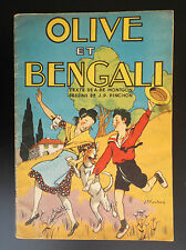 Olive et Bengali Pinchon Gordinne Chagor