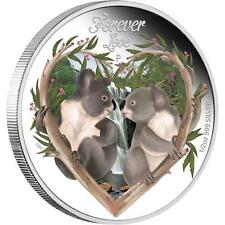 Tuvalu 2012 50 Cents Forever Love 2012 Koala 1/2 Oz Silver Proof Coin