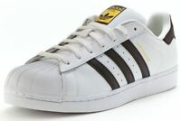 Adidas Superstar Sneakers White Black Gold