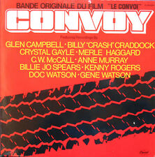 OST THE CONVOY LP French 1978 Glen CAMPBELL-Doc WATSON........