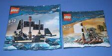 2x Lego Fluch der Karibik! Jack Sparrow mit Boot und Mini Black Pearl OVP