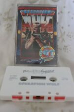 Commodore 64/128 Video game Operation Wulf cassette