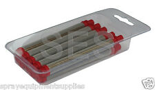 Q-Tech airless pencil filter - Red 10 pack