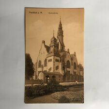Frankfurt a. M. Mathauskirche Germany Postkarte Unposted Postcard