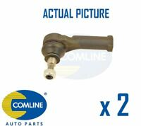 2 x FRONT OUTER TRACK ROD END RACK END PAIR COMLINE OE REPLACEMENT CTR3016