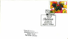 14 SEPTEMBER 1993 AUTUMN FIRST DAY COVER HAZELWOOD SKIPTON YORKS SHS (a)