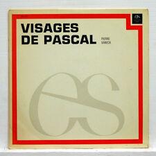 VISAGES DE PASCAL - JACQUES MESNARD - L'ENCYCLOPÉDIE SONORE LP EX+