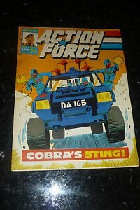 ACTION FORCE - No 19 - Date 11/07/1987 - Marvel Comic