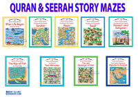 QURAN AND SEERAH STORY MAZES GOODWORD ISLAMIC STORIES BOOKS FOR MUSLIM CHILDREN
