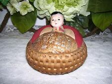 Japanese Gofun Doll Antique Izumeko Ningyou Doll