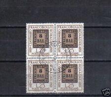 B5172 - ITALIA 1959 - ROMAGNE - QUARTINA USATA