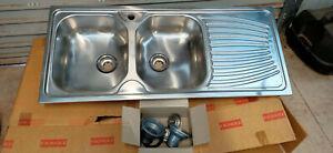 Franke double bowl kitchen sink