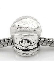 Nurse Cap Charm Spacer European Bead Compatible for Most European Snake Chain Br
