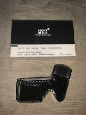 Mont Blanc ink 50ml glass bottle, Black