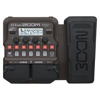 Zoom A1X Four Multi-Effects Processor w/ Expession Pedal for Guitar, Sax, etc.