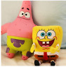 Spongebob Plush Toy Teddy Kids Cartoon Gift Soft Yellow Stuffed Doll Star Toys