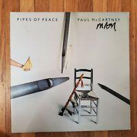 Paul McCartney  - Pipes Of Peace  1983 QC 39149 NM Vinyl LP VG+ Gatefold Cover