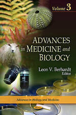 Advances in Medicine and Biology: v. 3 - New Book