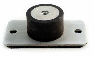 2-Pack: 10 - 1,000 Kg Female Thread Rubber Pedestal Anti Vibration Mount
