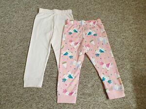 Gorgeous M&S Pink Pyjamas Bottoms Size 18-24 BNWOT Girls Unicorn Trousers