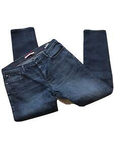 Mens Tommy Hilfiger Blue Jeans 38 Waist 34 Length