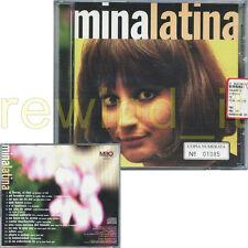 """MINA """"MINA LATINA"""" CD 1998 TIRATURA LIMITATA BRANI IN SPAGNOLO - SIGILLATO"""