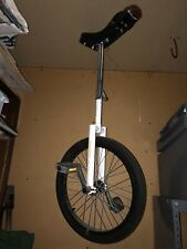 Pro Unicycle By Qu-Ax Of Germany 20� Very Good Condition Circus /Freestyle / Fun