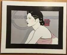 Patrick Nagel, Lifesaving Equipment, Orig.Poster print,ITT Canon Deco Suite 1979