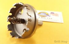 """2-1/2"""" Tungsten Carbide Tipped Hole Cutter Holesaw 2-1/2"""" TcT Metal Hole Saw USA"""