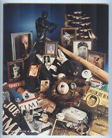 Joe DiMaggio Memorabilia Collage Photo signed by Photographer David M Spindel