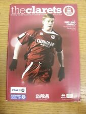 10/03/2012 Chelmsford City v Welling United  (Light Crease). Any faults with thi