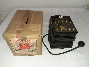 LIONEL PREWAR TYPE K TRANSFORMER  w/ Original Box!  Not Fully Tested