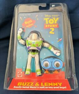 Toy Story 2 Poseable Buzz Lightyear and Lenny Figure in sealed pack