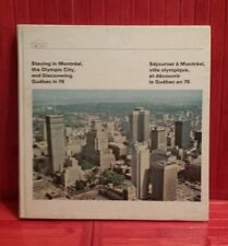 Vintage Montreal 1976 Olympic Game accommodation book