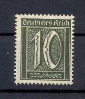 DR 159 b Freimarke 10 Pfg. schwarzoliv postfrisch tiefst geprüft (or138)