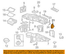 GM OEM Evaporator Heater-Actuator 52473356