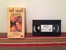 Lorenzos Oil (VHS, 1993) tape & sleeve