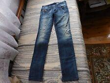 womens diesel jeans destoyed 24/25