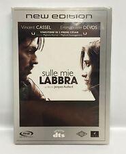 SULLE MIE LABBRA - DVD - SLIPCASE - VINCENT CASSEL