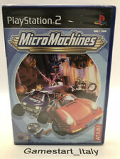 MICROMACHINES MICRO MACHINES - SONY PS2 PLAYSTATION 2 - NUOVO - NEW PAL VERSION