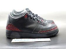 Nike Air Jordan Fusion III 3 Black Fusion Red GS 2008 sz 6Y